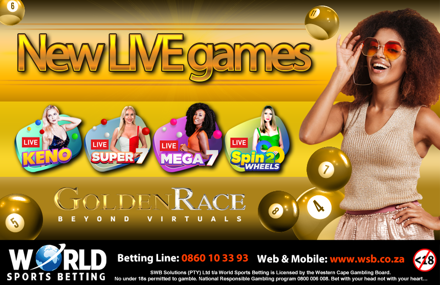 Golden Race Games now available