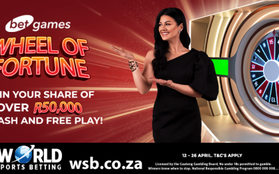 Wheel Of Fortune, R50,000 Promotion