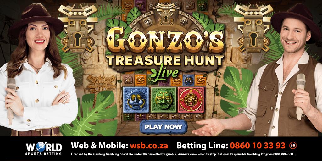 World Sports Betting launches Gonzo`s Treasure Hunt