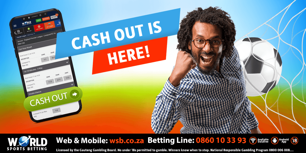 World Sports Betting presents CASH OUT!