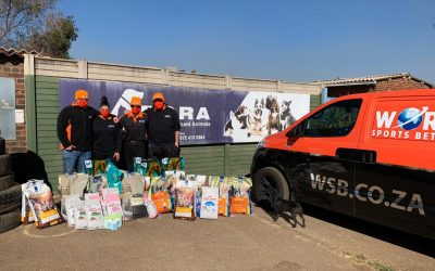 FORA animal shelter in Krugersdorp receives a suprise visit from the WSB Angels