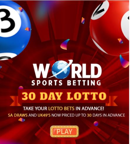 Bet on your favorite Lotto Draws up to 30 days in advance!