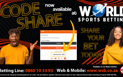 New Feature!  Code Share now available on WSB Mobile.