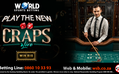 Craps now available online!